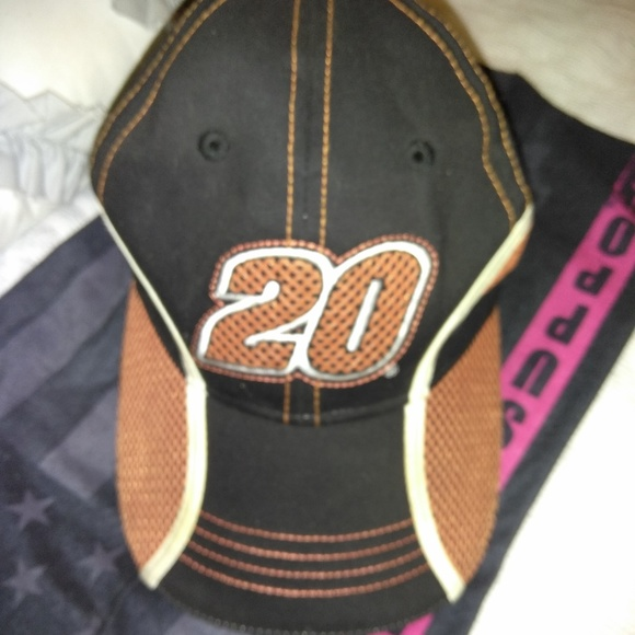 Tony Stewart  20 The Home Depot Hat a3b28c785e1e